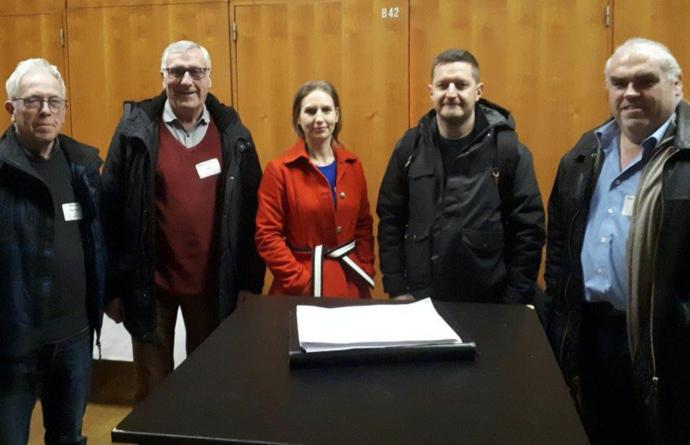 N-VA Diest en Scherpenheuvel-Zichem op de vormingsdag in het CC Hasselt