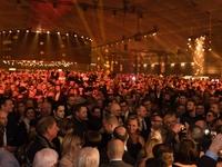 Veel volk op de nieuwjaarsreceptie 2018 van N-VA in de Nekkerhal van Mechelen